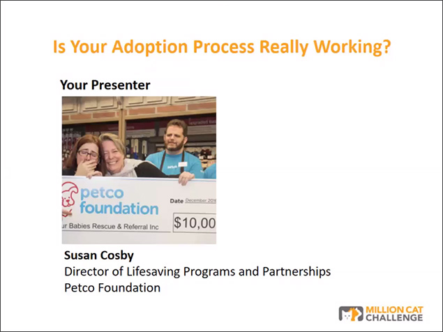 Webinar Presenter: Susan Cosby